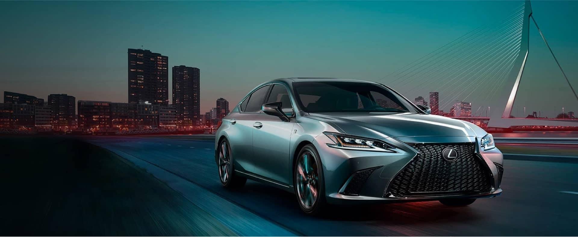 New Lexus Vehicle in City