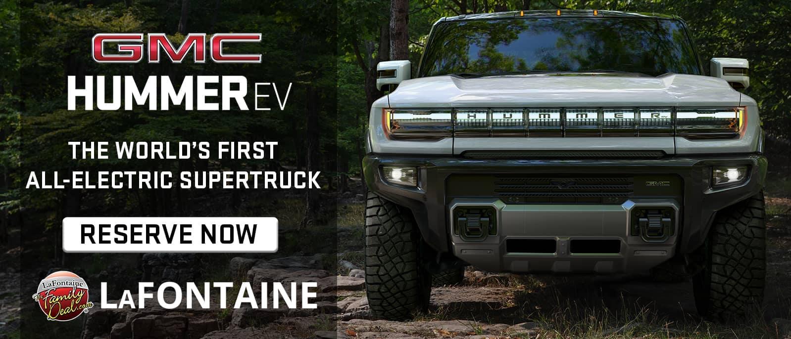 GMC Hummer EV Reserve Now Banner
