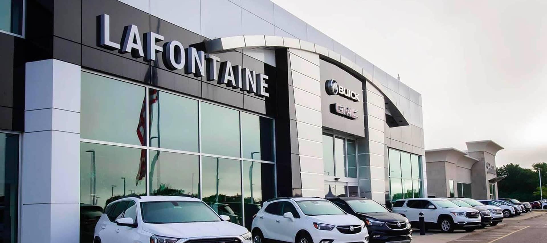 LaFontaine Automotive Group Dealership Exterior