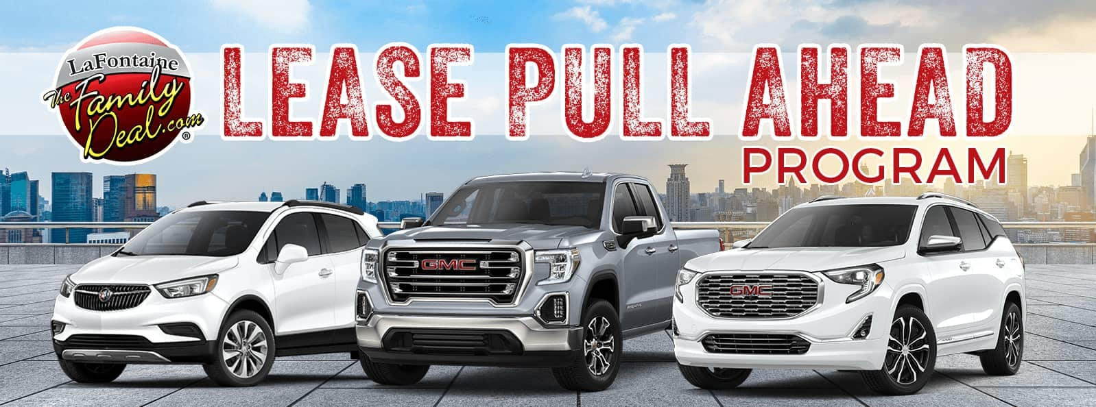 Lease Pull Ahead Program Banner