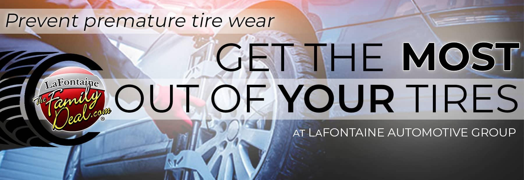 LaFontaine Cadillac Custom Banner - Four Wheel Alignment