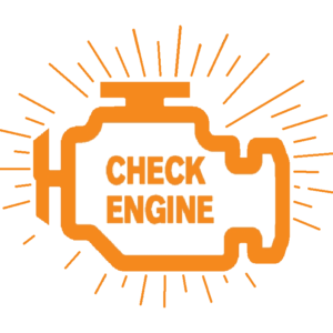 Check Engine Icon - Blinking Light