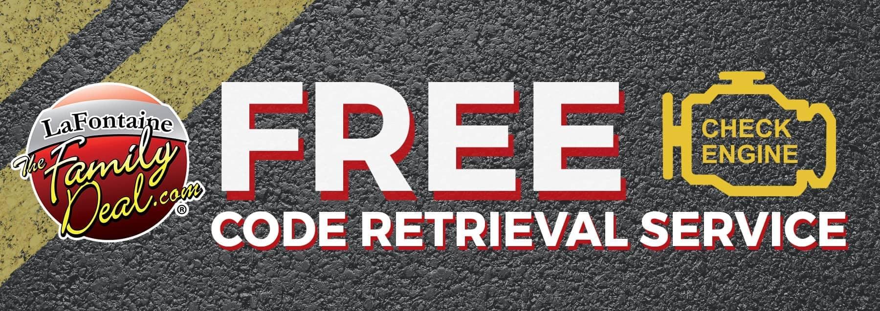 Free Code Retrieval Service