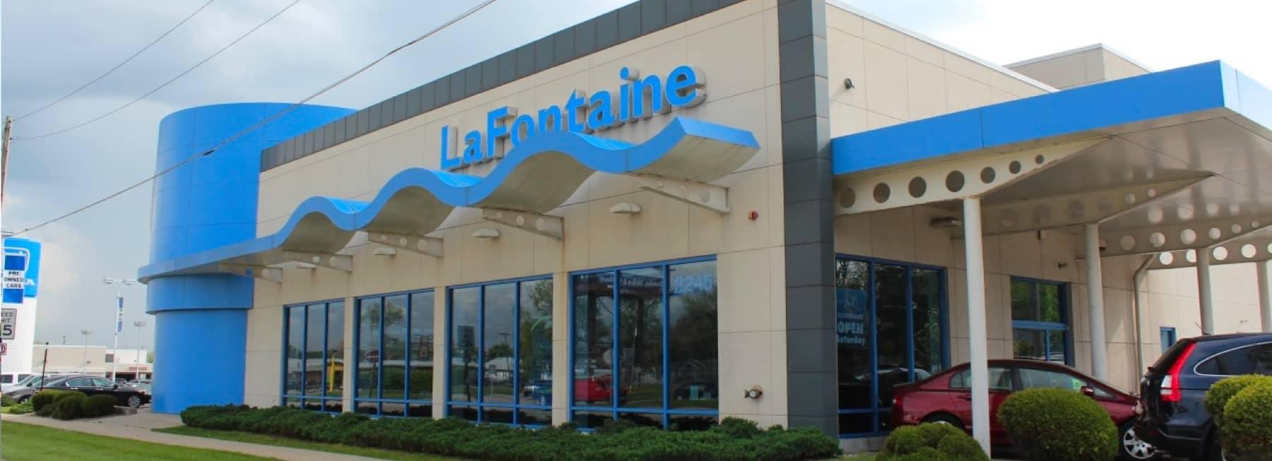 LaFontaine Honda dealership exterior