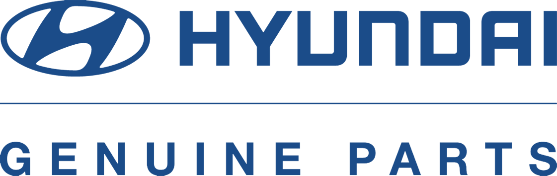 picture of the official Hyundai parts logo.
