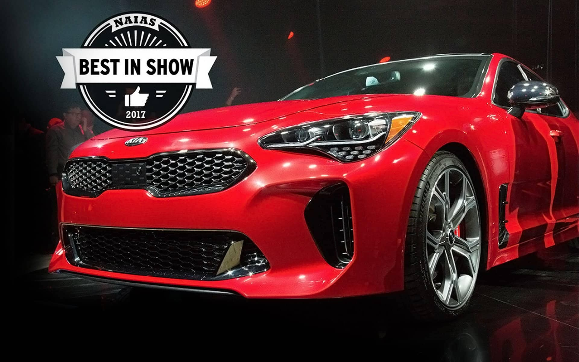 Kia Stinger Best In Show