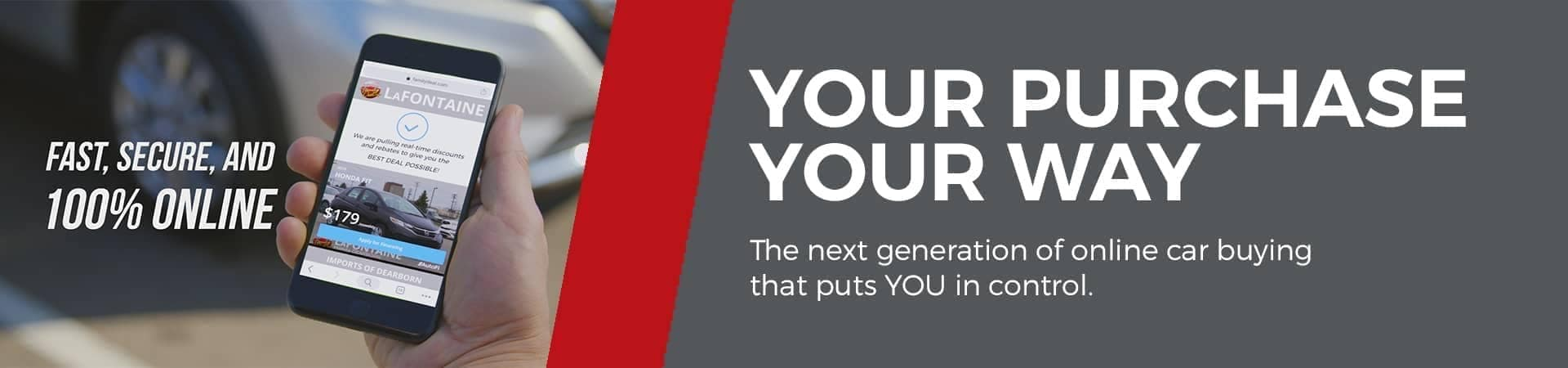 YouPurchase Your Way banner