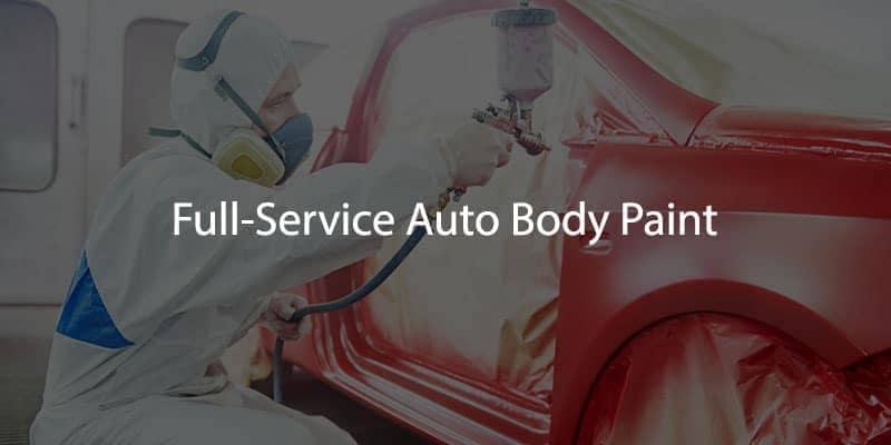 Full-Service Auto Body Paint