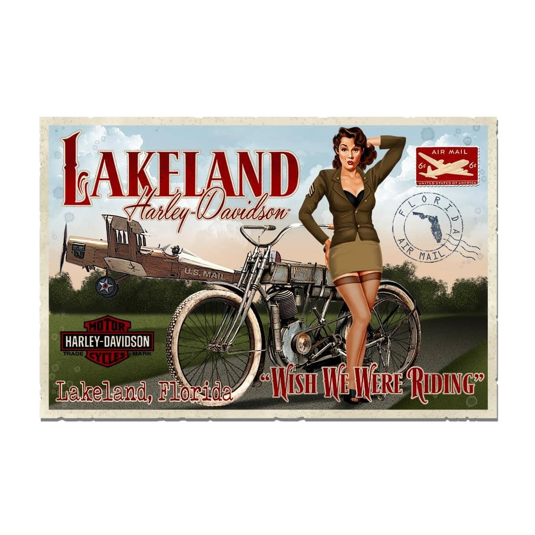 lakeland pin up logo