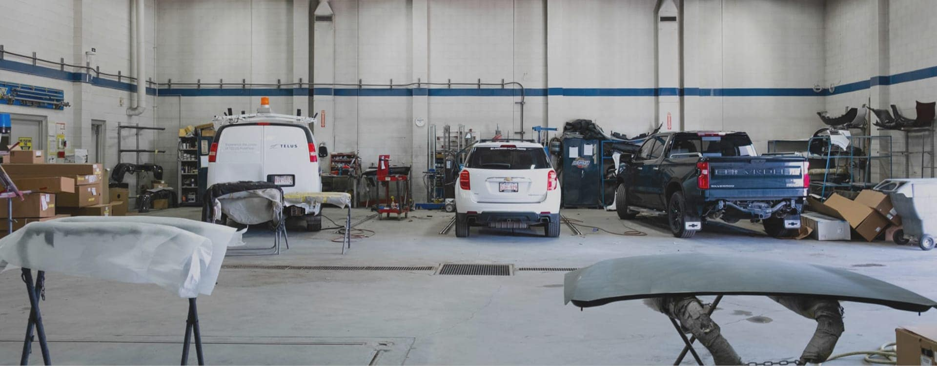 Collision Center Interior