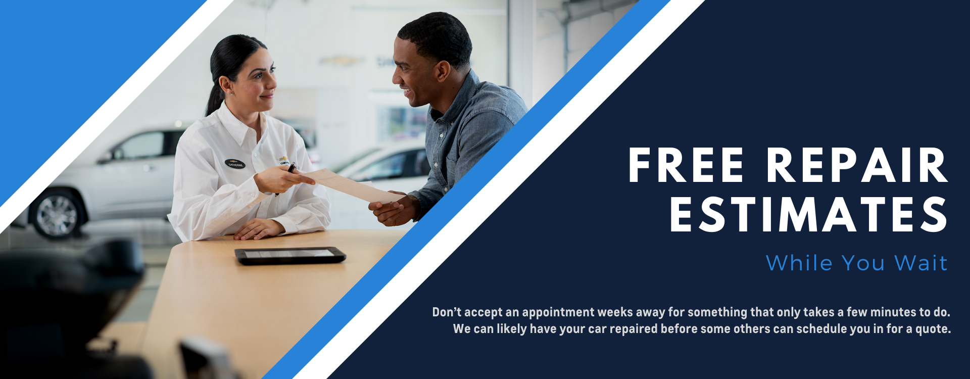 Free Repair Estimates