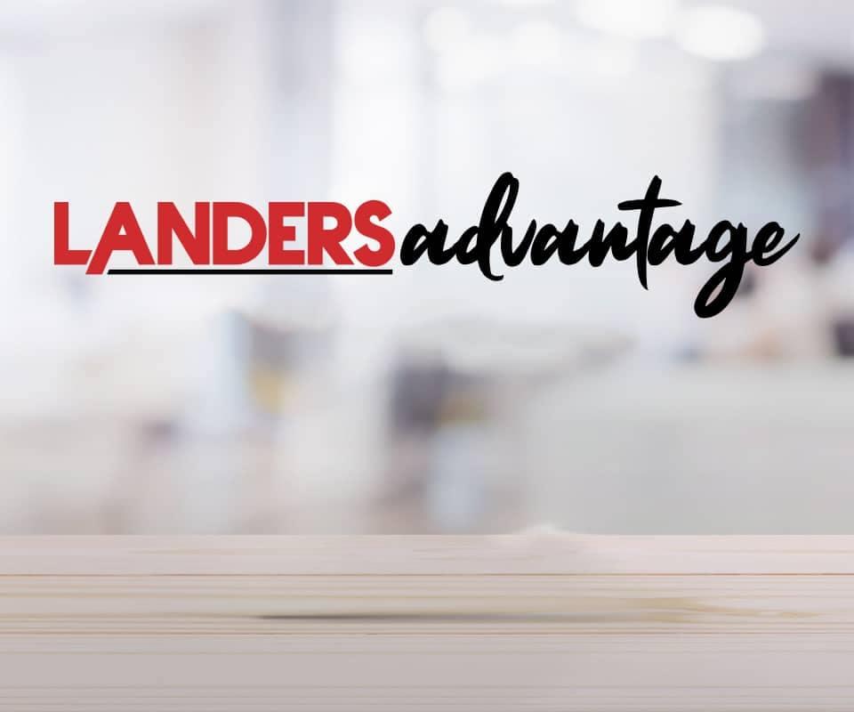 Landers Advantage tagline
