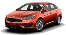 2018 Red Ford Focus SE