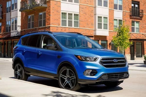 2019 Ford Escape Blue street