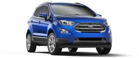 Blue 2018 Ford EcoSport Titanium