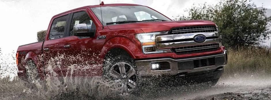 F-150 in water