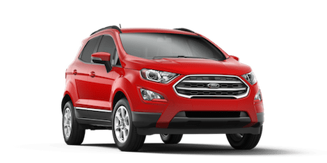 Red 2018 Ford EcoSport SE