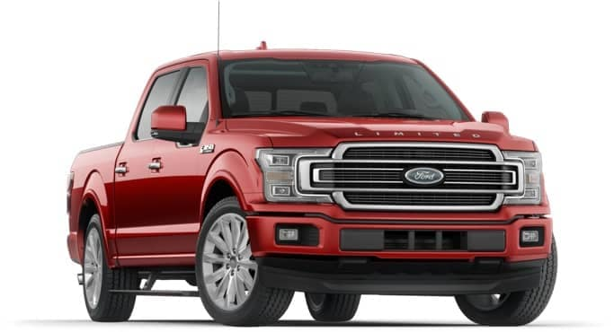 Red F-150 Limited