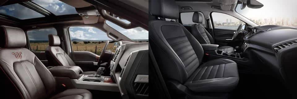 Truck and SUV interiors