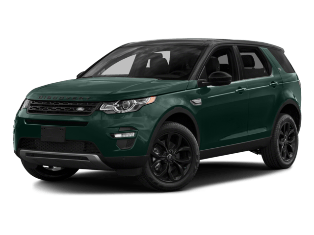 green discovery sport
