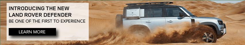 Land Rover Defender Homepage Slider - DI 852X158