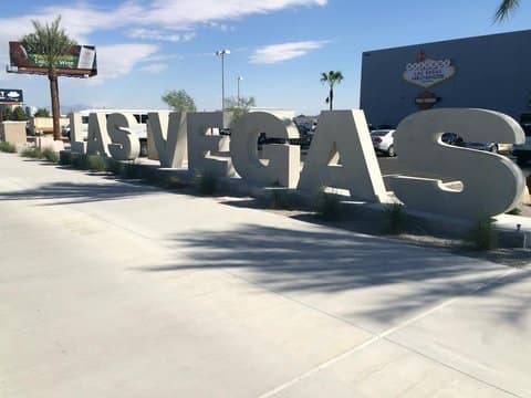Las Vegas Harley-Davidson Front Entrance Sign