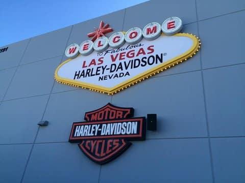 Las Vegas Harley-Davidson Store Sign