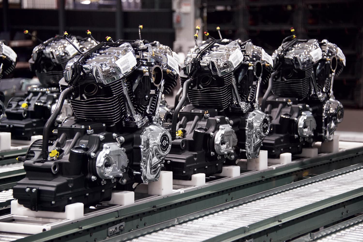 Check Out the Milwaukee-Eight Big Twin Engine from Our Harley-Davidson Dealer