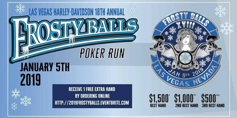Register for the Upcoming Frosty Balls Poker Run Today