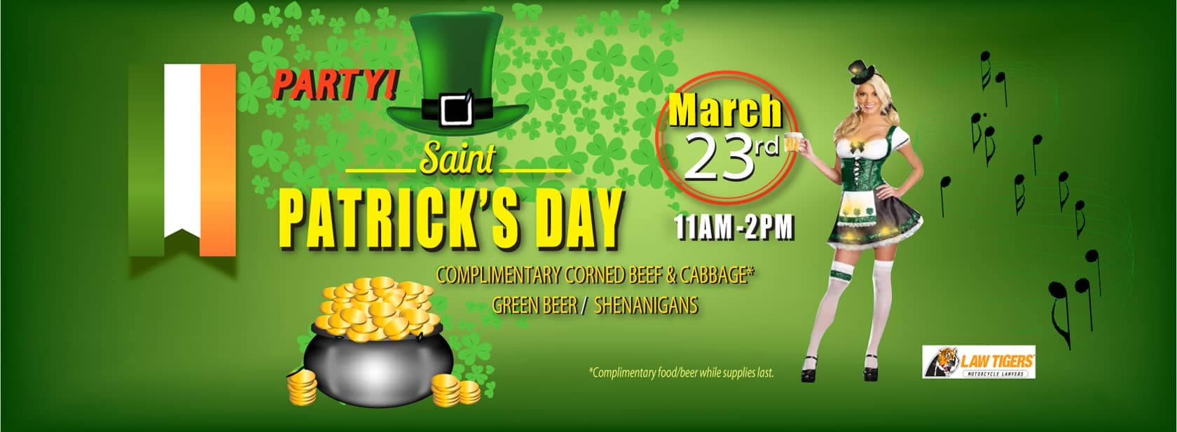 Join the Shenanigans at Our St. Patrick's Day Party