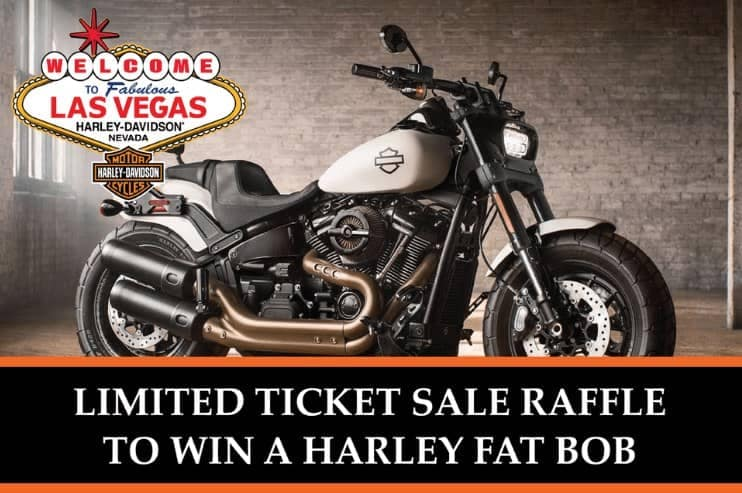 Put Yourself in the Running to Win a Brand-new Harley!