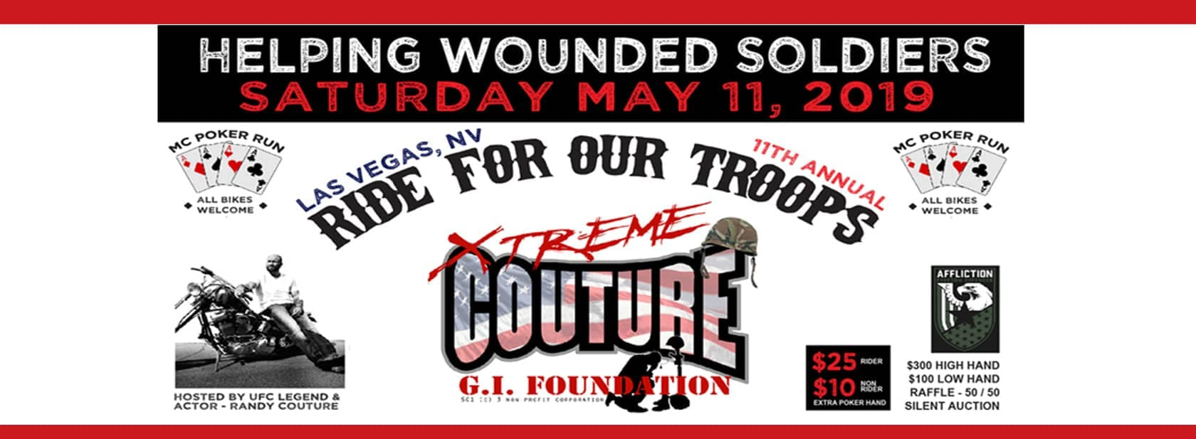 Show Your Support for Our Troops at the 11th Annual Xtreme Couture Ride