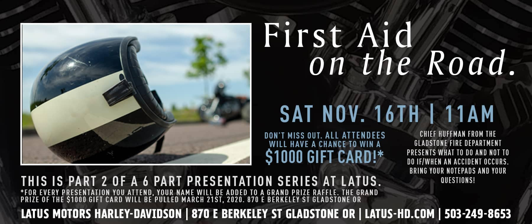 Latus Motors First Aid on the Road Presentation