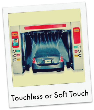 Touchless or Soft Touch