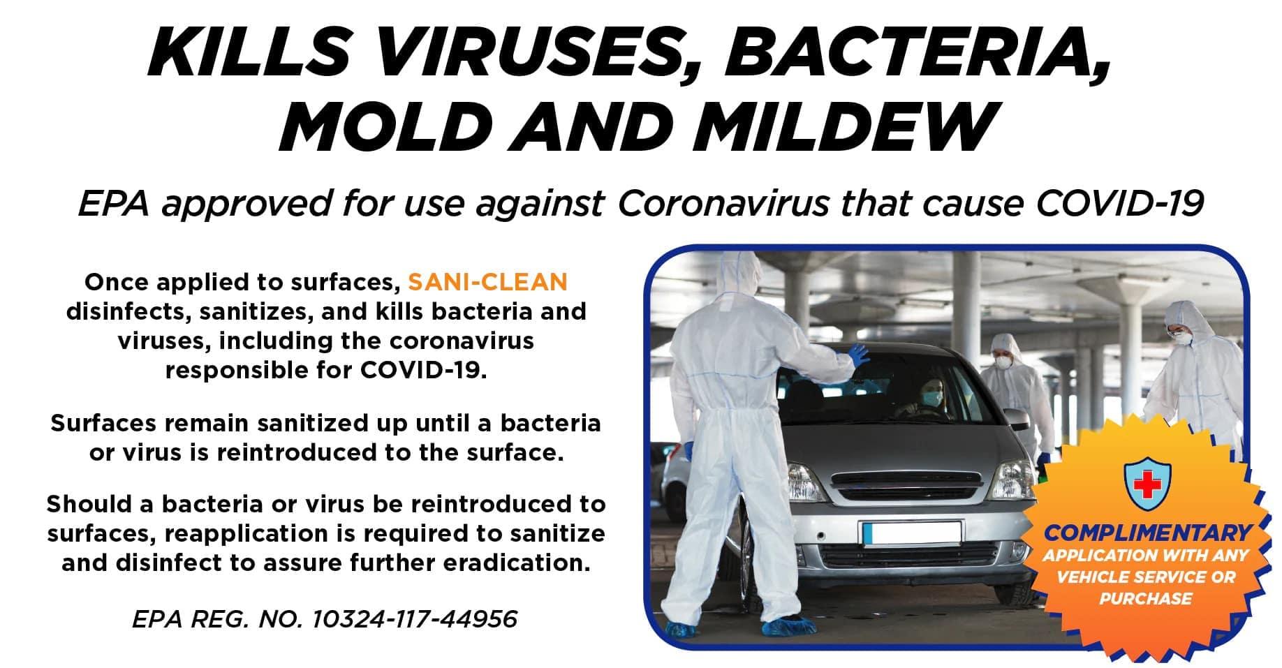 Kills Viruses, Bacteria