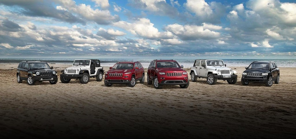2017 Jeep lineup