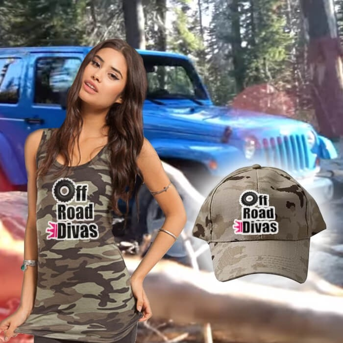 off road divas merchandise