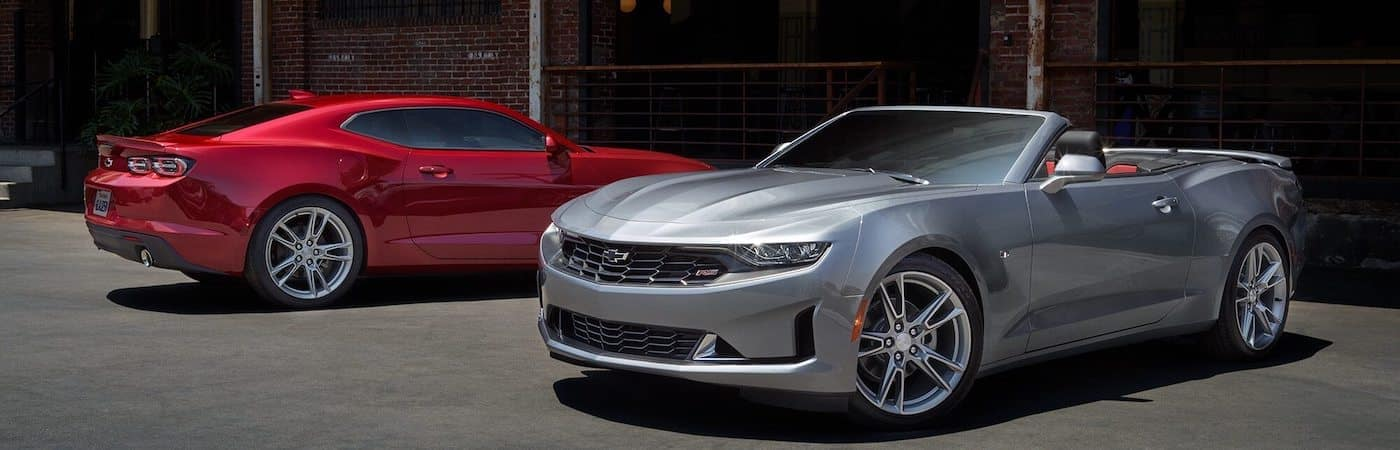 Camaro Coupe and Convertible
