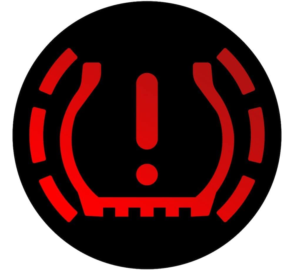 Red Tire light