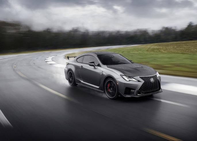 2020 Lexus RCF Track Edition