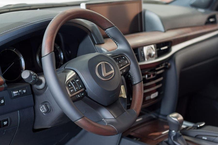 Lexus Interior Cleaning Tips