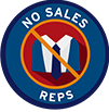 No Sales Rep