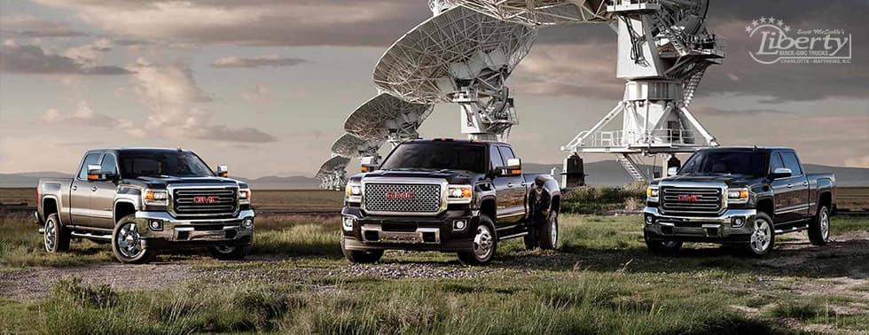 GMC Sierra trucks