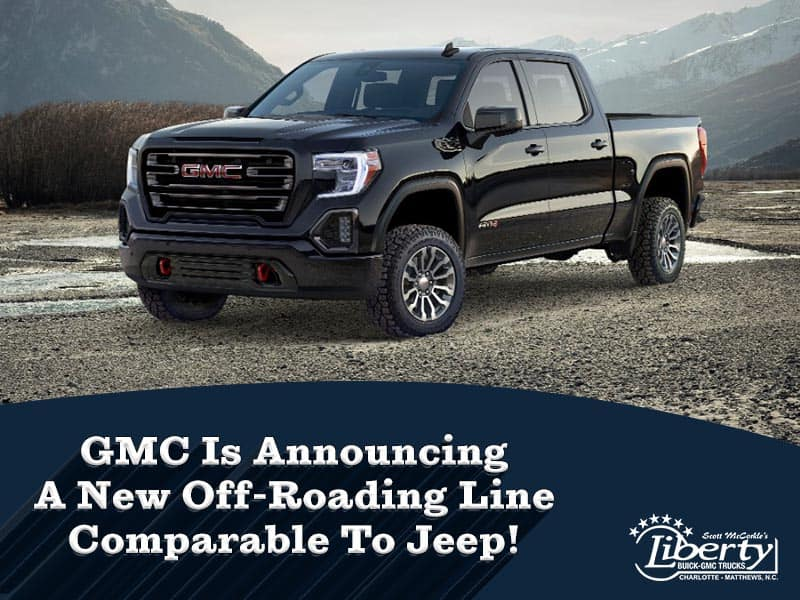 GMC Is Announcing A New Off-Roading Line Comparable To Jeep!