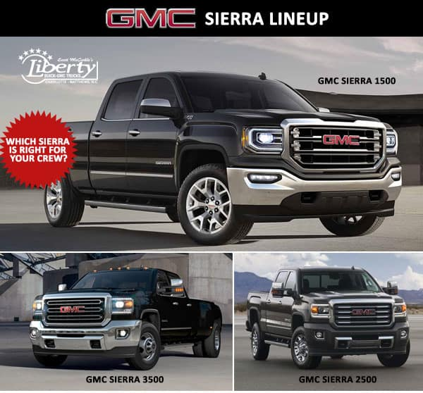 Which Sierra Is Right for Your Work Crew?