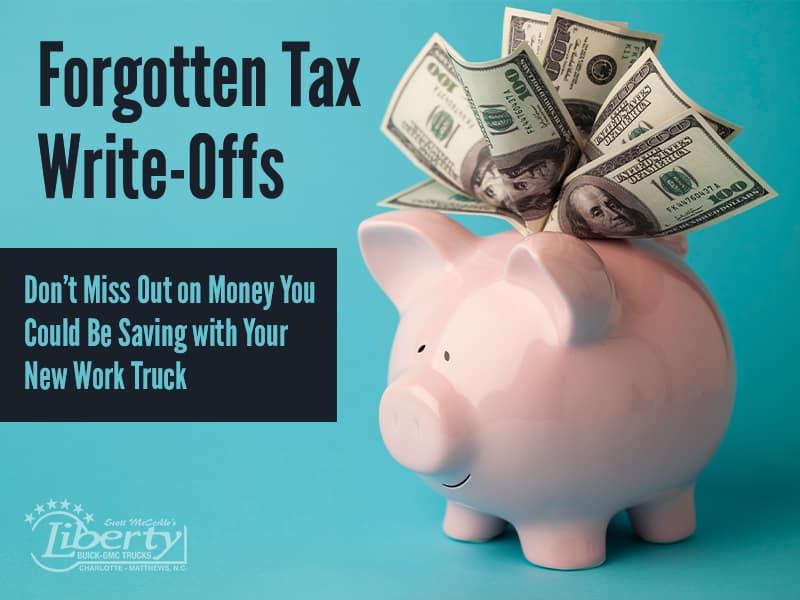 Forgotten Tax Write-Offs