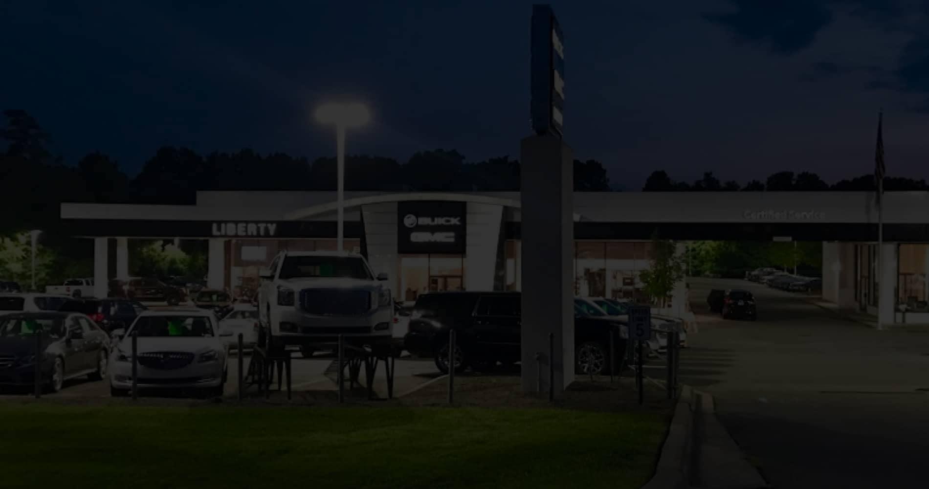 Liberty Buick GMC Dealership Exterior