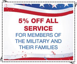 military coupon