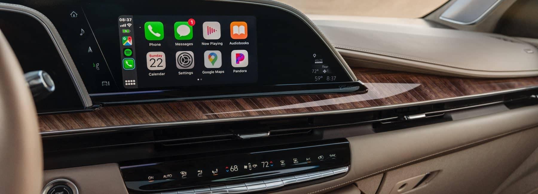 2021 Cadillac Escalade interior front dash