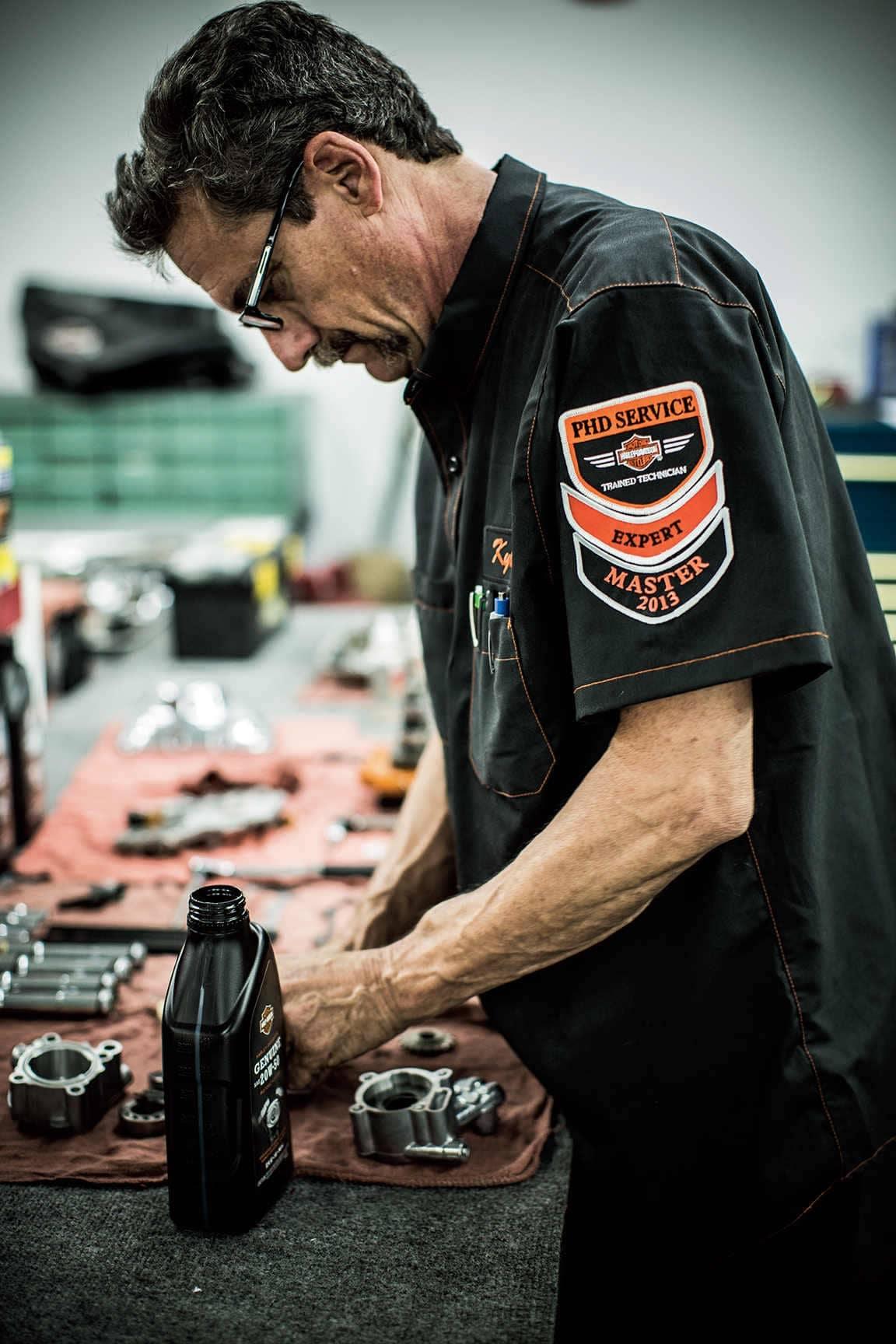 Harley-Davidson Service Mechanic